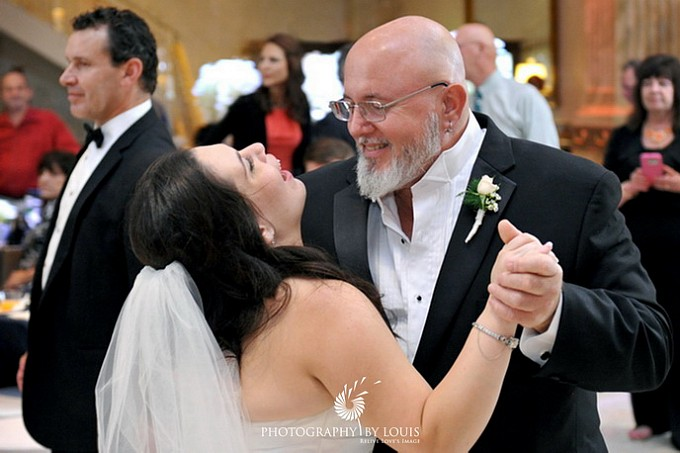 bride dancing with her uncle
